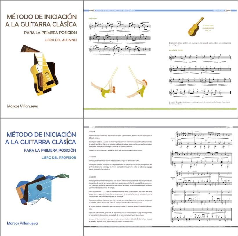 Maquetación - Método de iniciación a la guitarra clásica 1