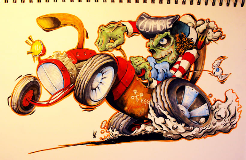 Copic Art  1