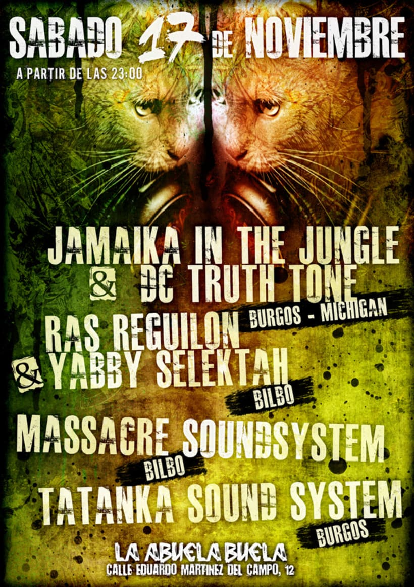 Carteles Jamaika in the Jungle 16