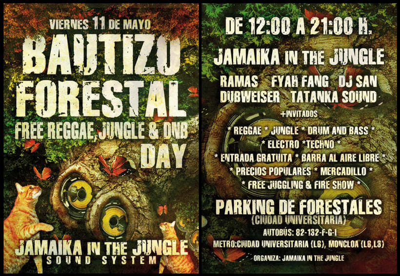 Carteles Jamaika in the Jungle 14