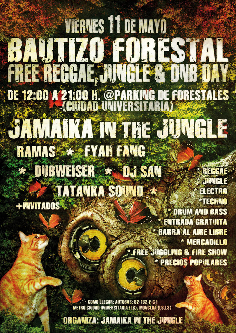 Carteles Jamaika in the Jungle 13