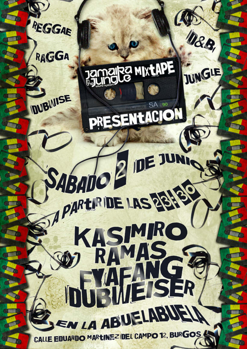 Carteles Jamaika in the Jungle 12