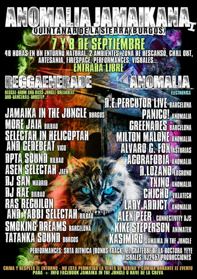 Carteles Jamaika in the Jungle 9