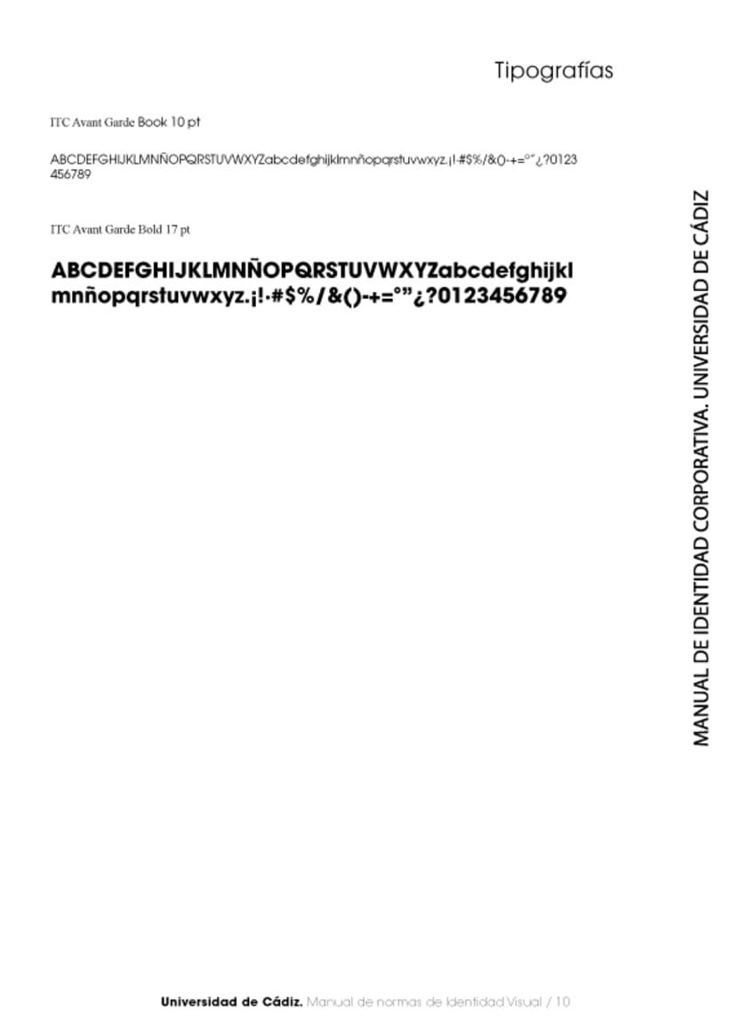 Manual Identidad Corporativa Universidad Cadiz 11