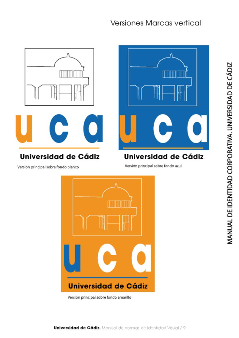 Manual Identidad Corporativa Universidad Cadiz 10