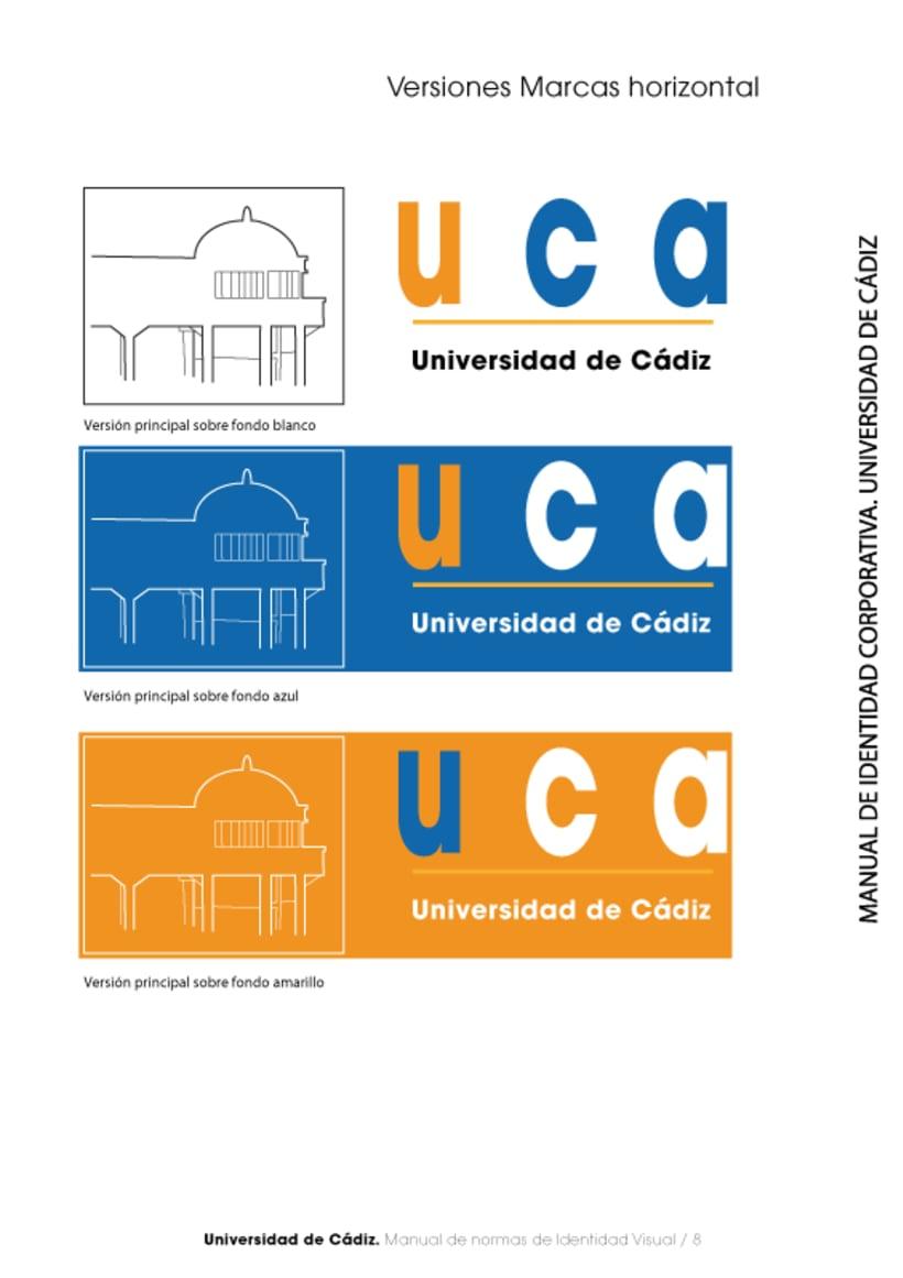 Manual Identidad Corporativa Universidad Cadiz 9