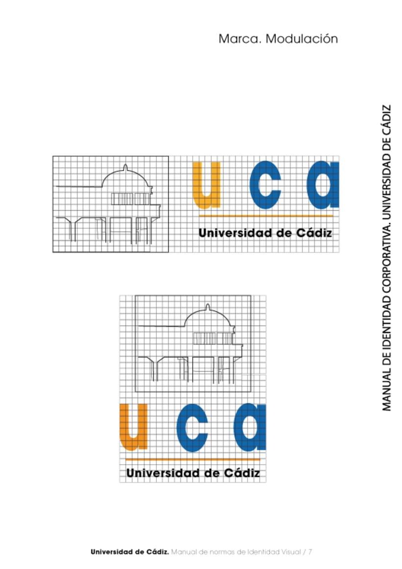 Manual Identidad Corporativa Universidad Cadiz 7
