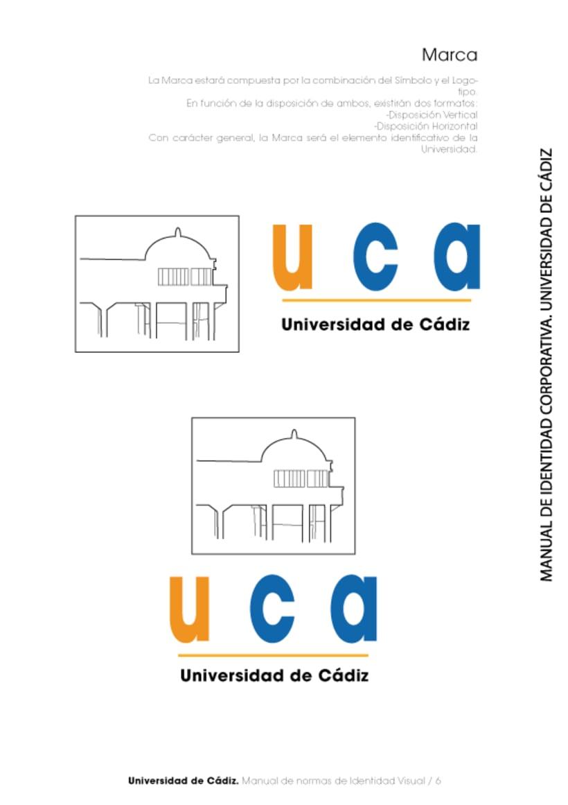 Manual Identidad Corporativa Universidad Cadiz 6