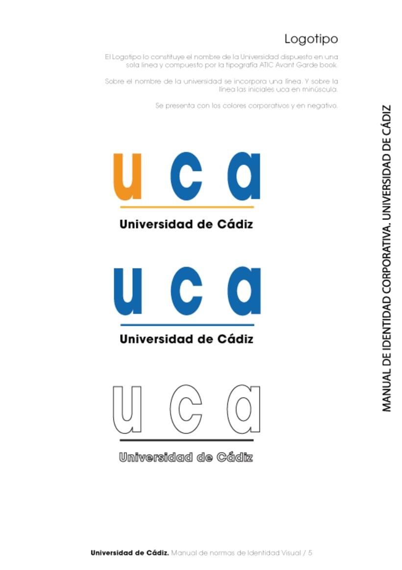Manual Identidad Corporativa Universidad Cadiz 5