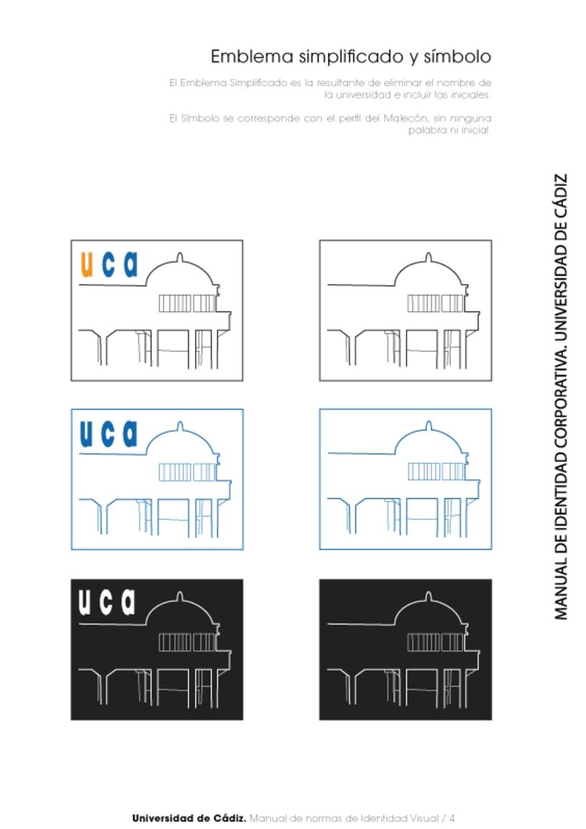Manual Identidad Corporativa Universidad Cadiz 4