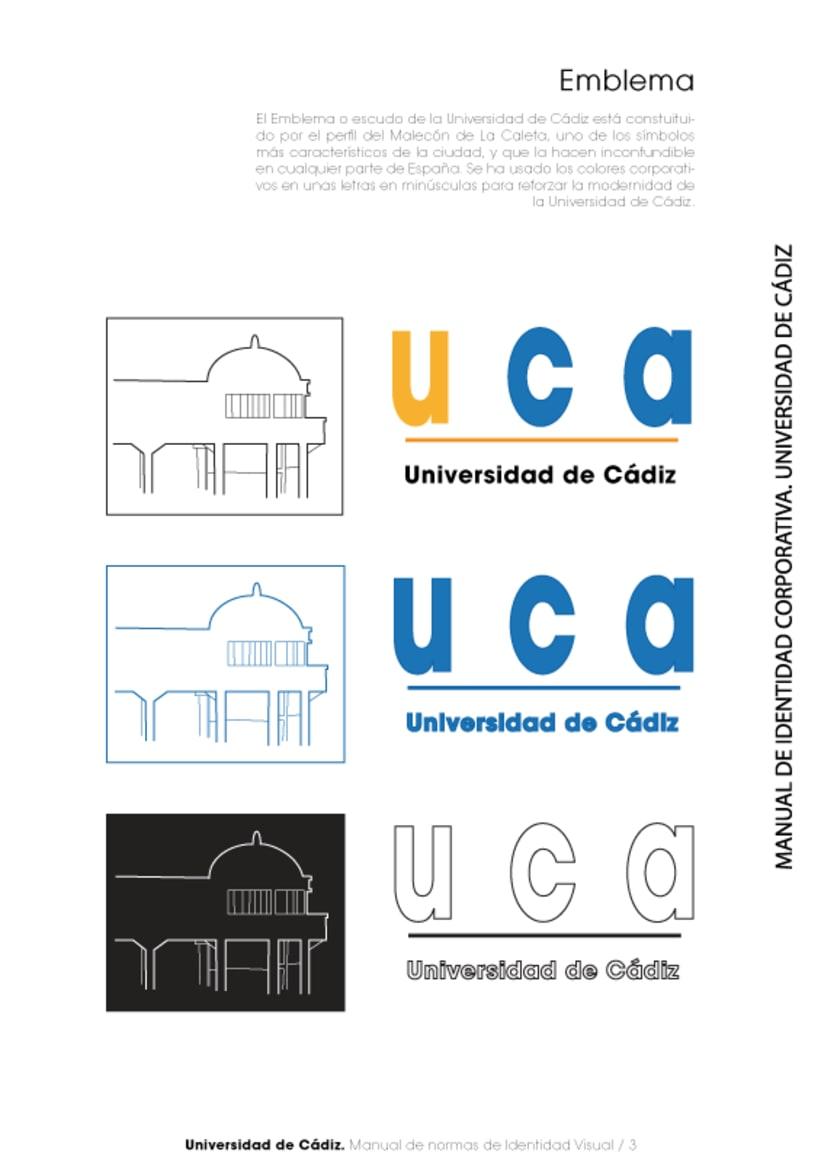 Manual Identidad Corporativa Universidad Cadiz 3