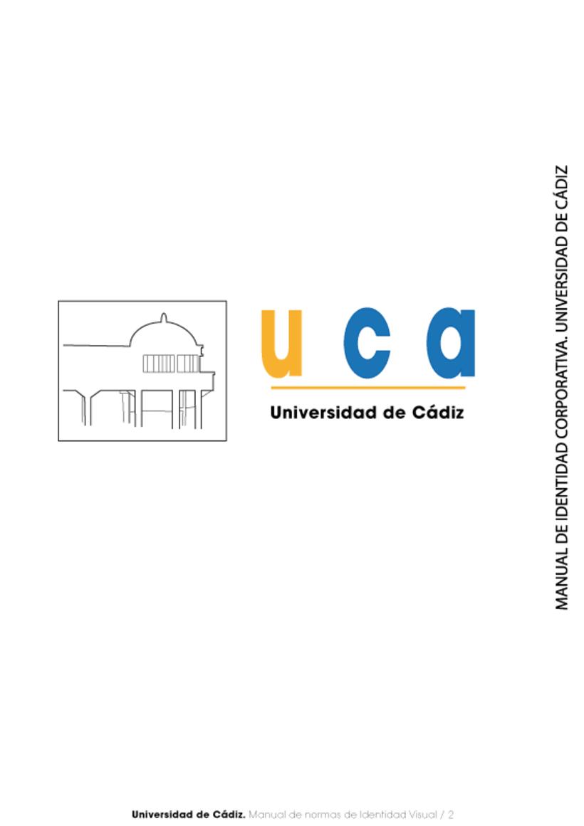 Manual Identidad Corporativa Universidad Cadiz 2