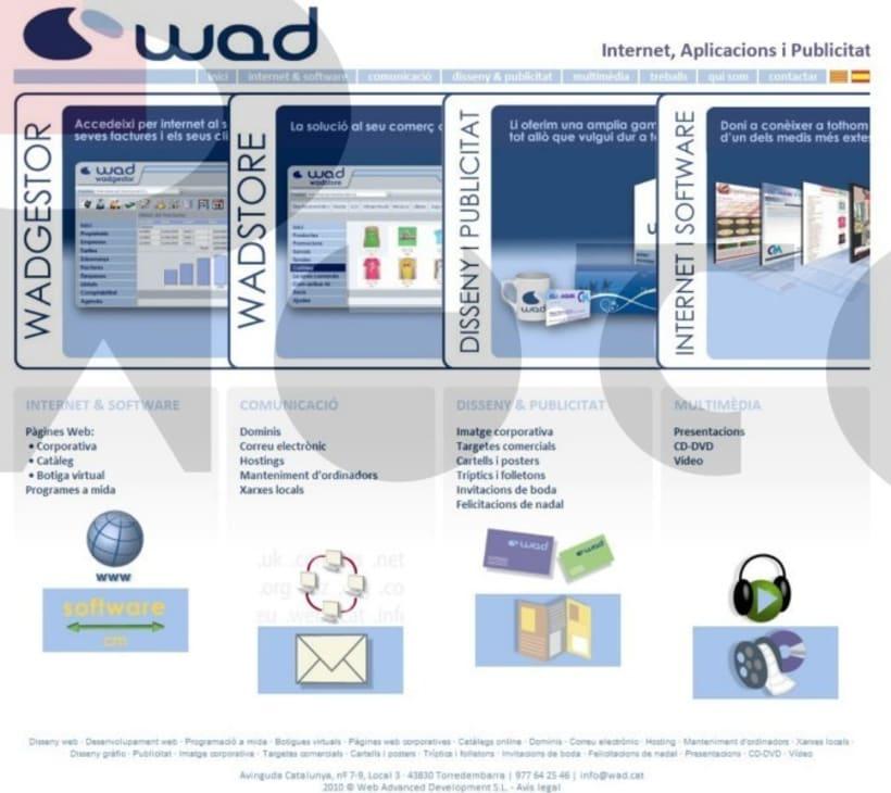 Graphic Design for Web. WAD enterprise. 4