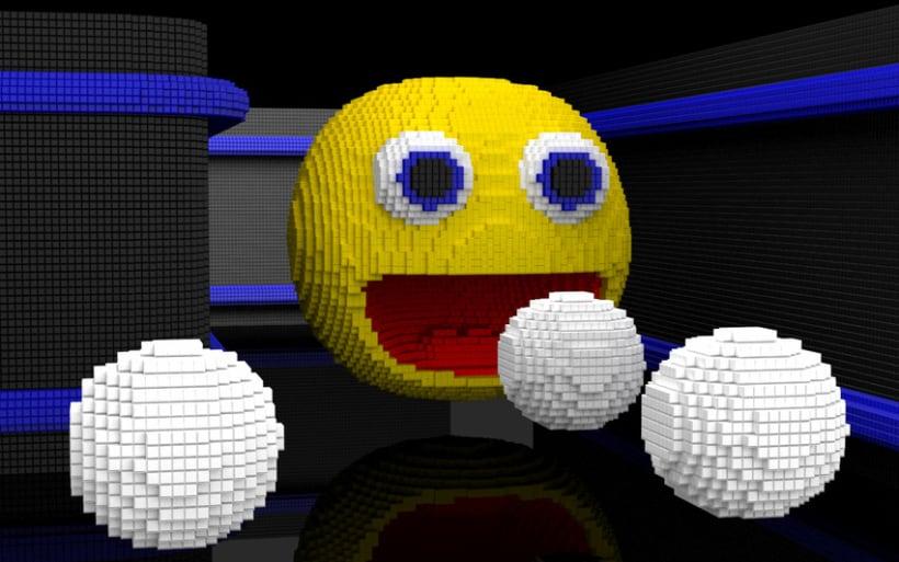 Voxel Pacman 0