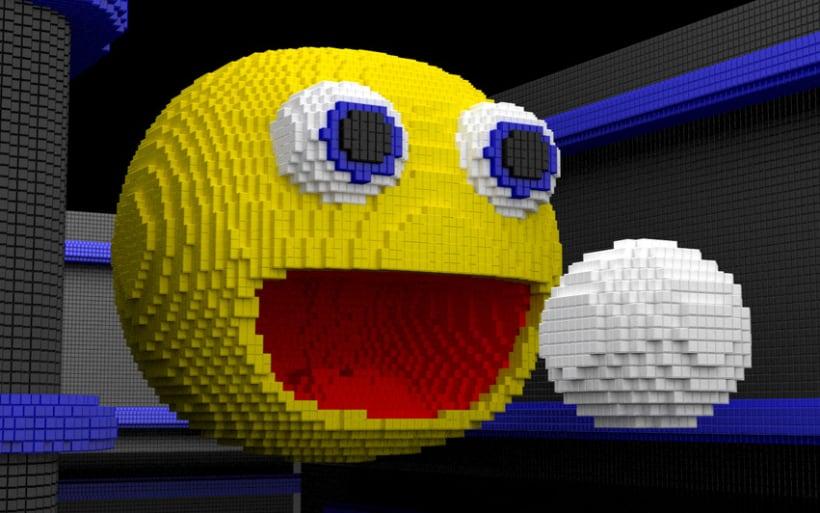 Voxel Pacman 1