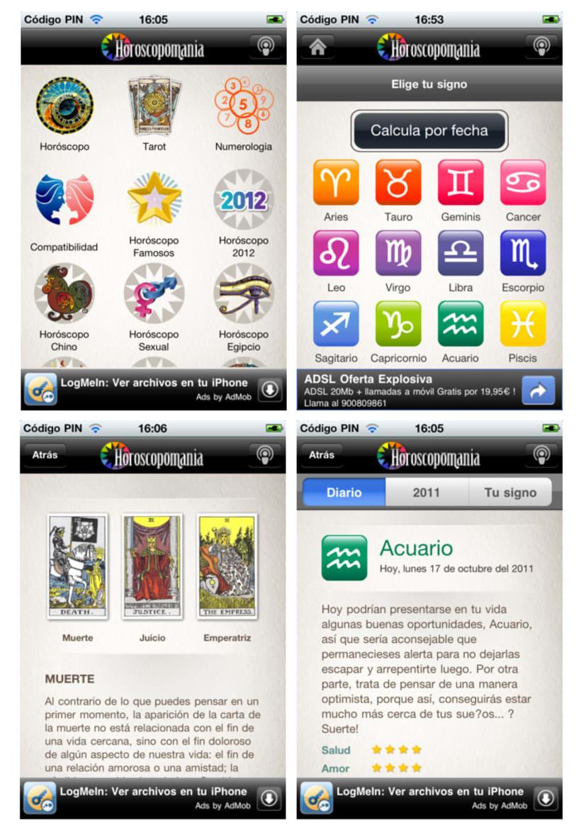 Horoscopomania iPhone App 3
