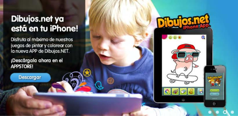 Dibujos.net iPhone App 2