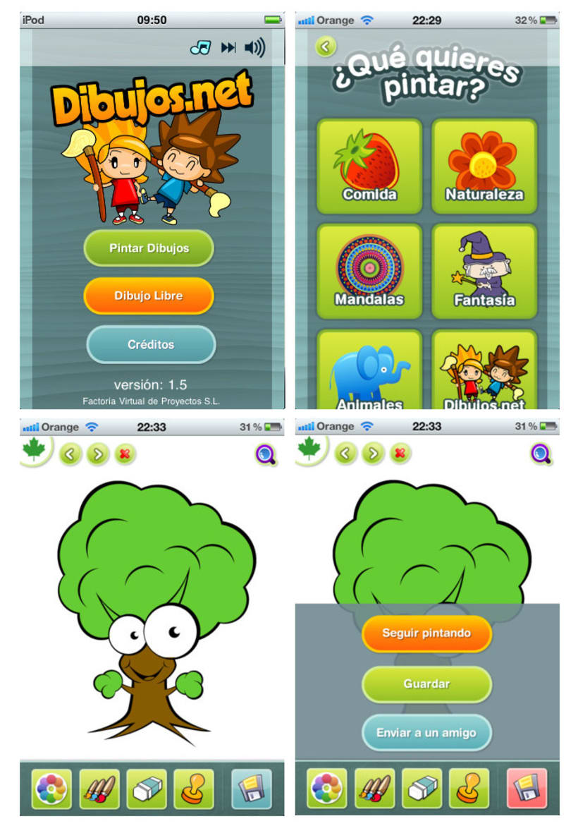 Dibujos.net iPhone App 3