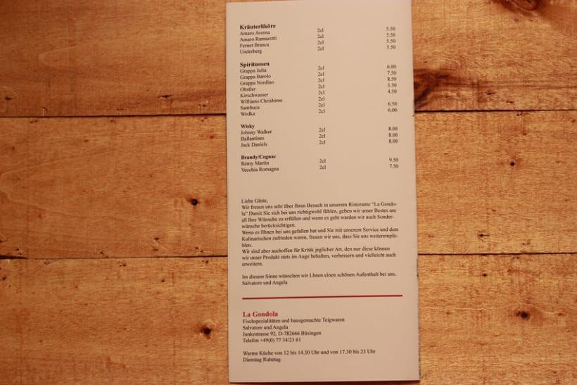 Menú restaurante  5