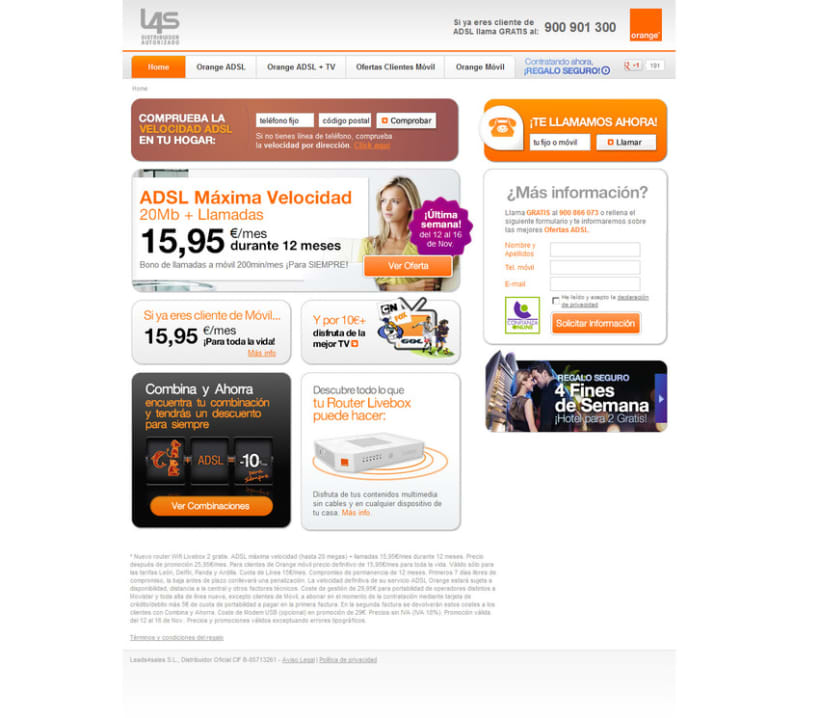 Web Orange Distribuidor Autorizado 2