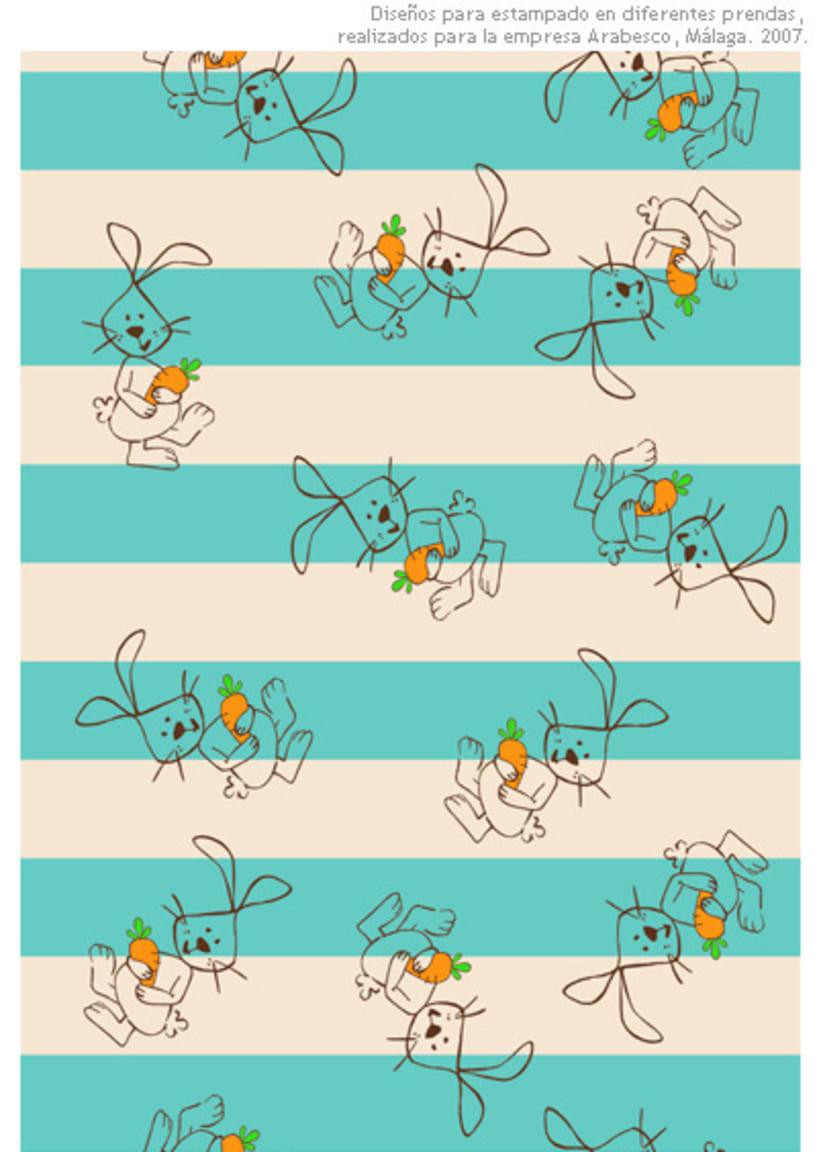 Diseño de estampados y Creatividades  3