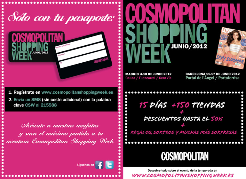 Cosmopolitan Shopping Week 9
