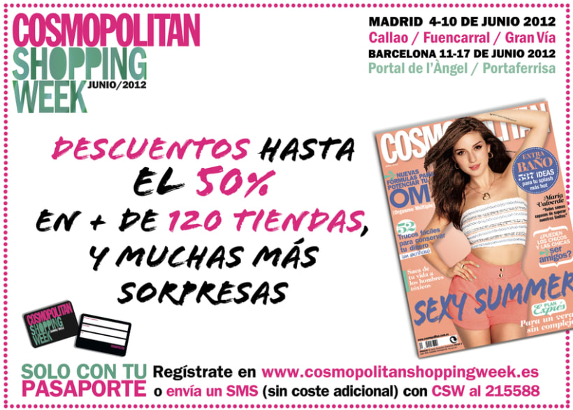 Cosmopolitan Shopping Week 11