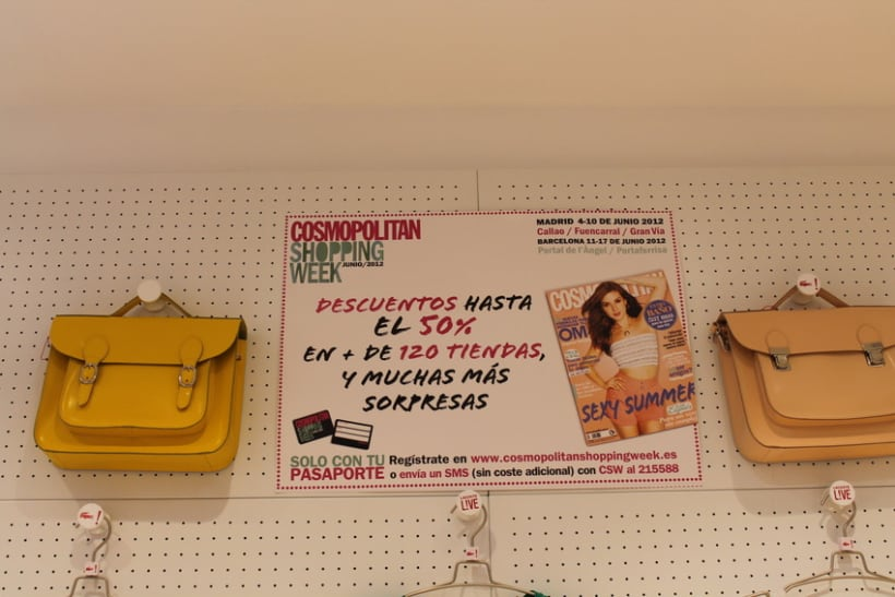 Cosmopolitan Shopping Week 18