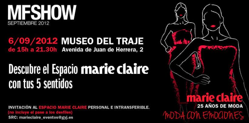 Marie Claire en Madrid Fashion Show 14