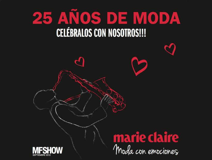 Marie Claire en Madrid Fashion Show 16