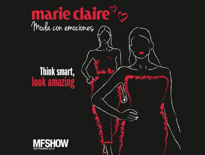 Marie Claire en Madrid Fashion Show 15