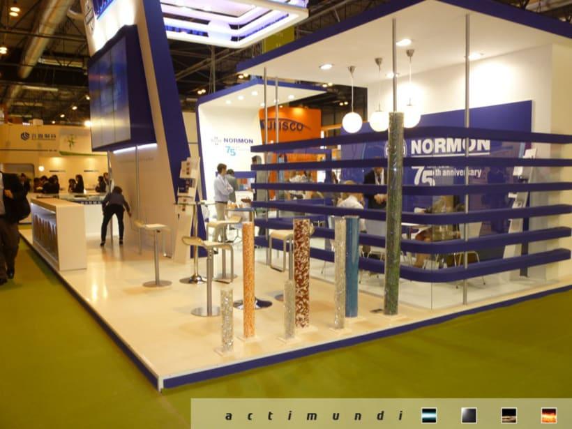 Diseño y producción stand CPHI 2012 4