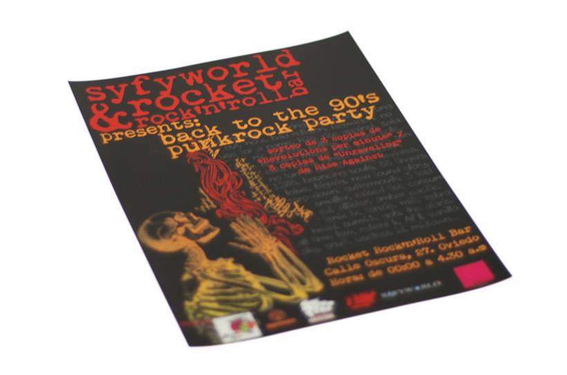 Poster publicitario Syfyworld 1