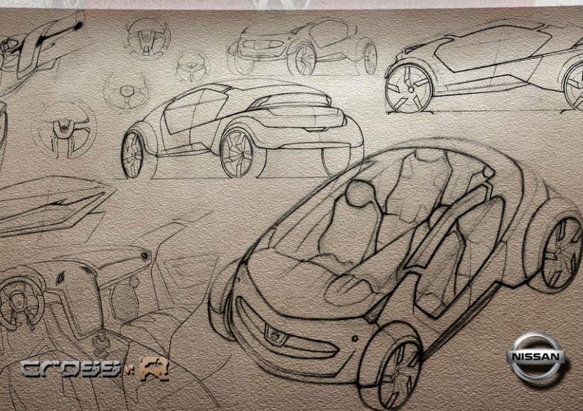 2º Premio Concurso Diseño Autopista - Nissan - U.P.V. 2012 - Nissan Cross-R.  4