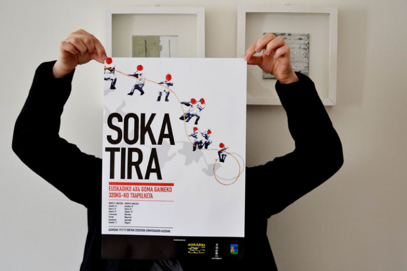Poster Final de Euskadi de sokatira 1