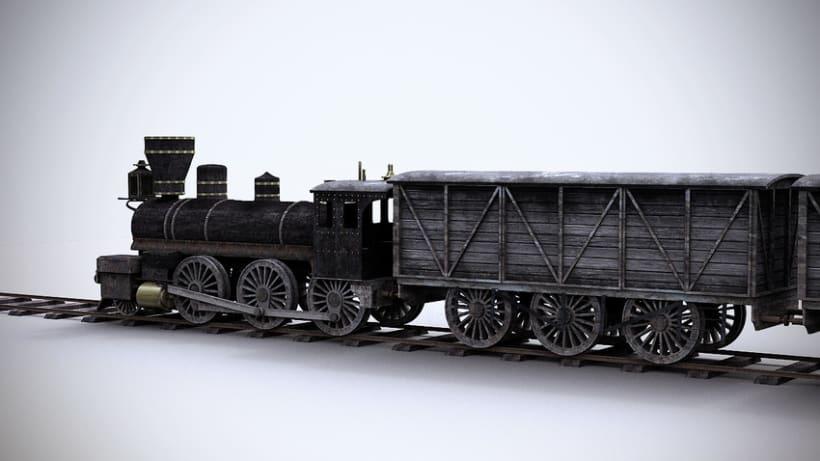 Train Modeling 3