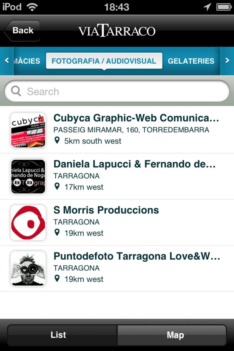 App VIA TARRACO • Magazine digital 15