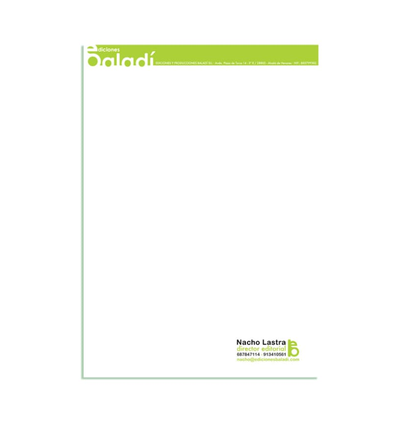 Diseño / Logotipo y Papelería 11