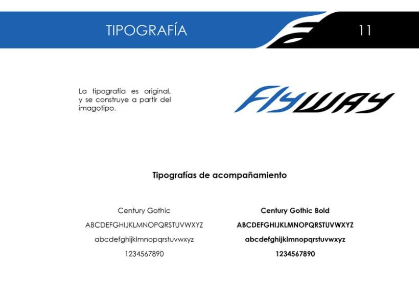 "Id. Corporativa ""FlyWay"" 7"
