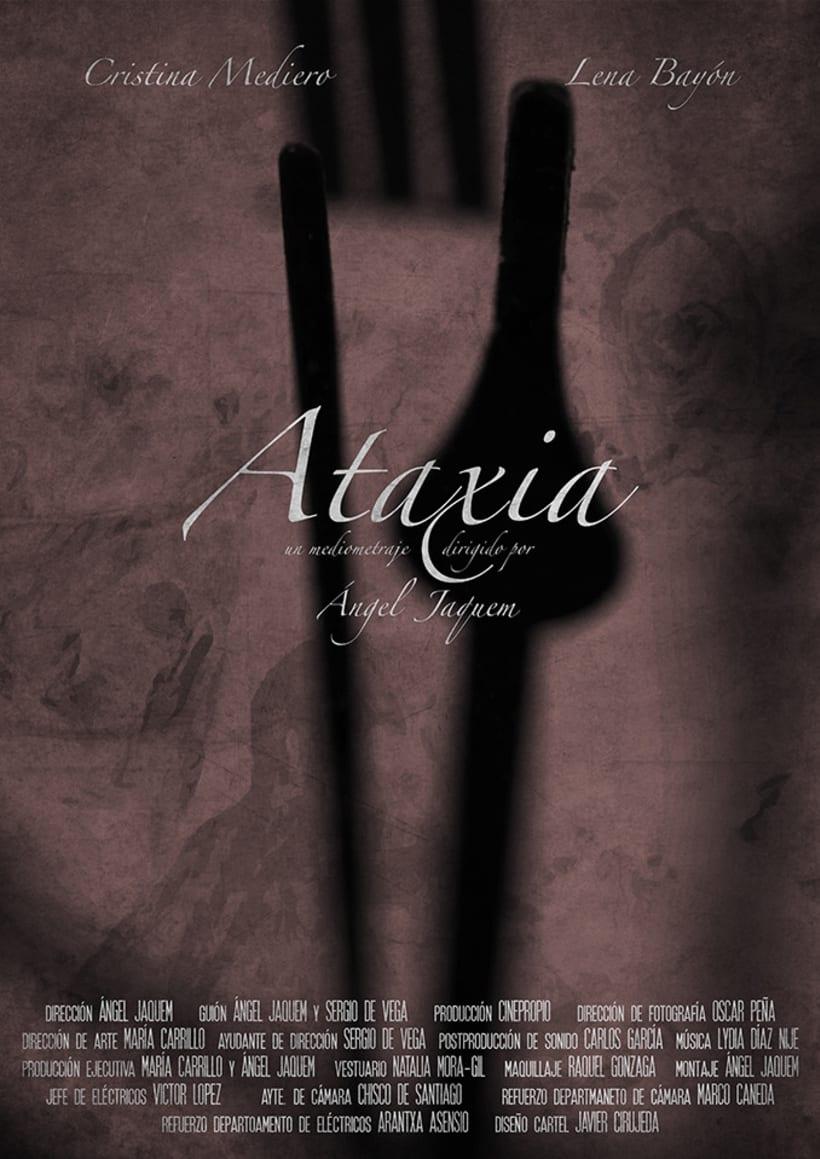 """Carteles """"Ataxia"""" 3"""