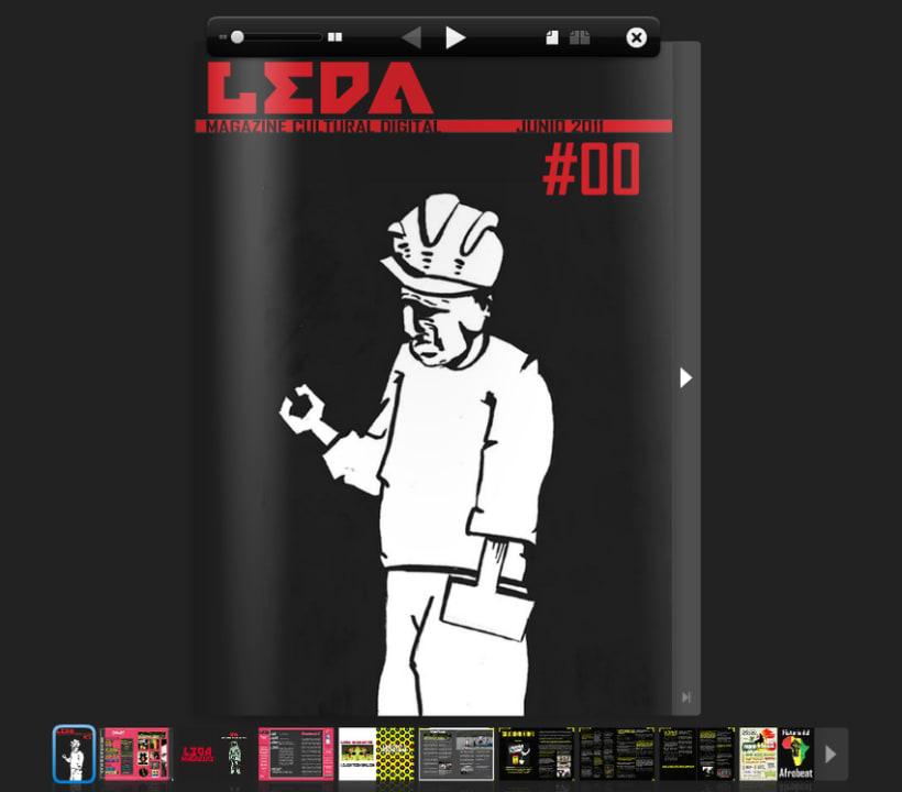 Proyecto LEDA MAGAZINE 1