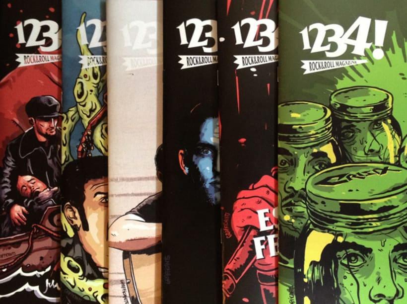 1234 Rock'n'roll Magazine - Portadas Marzo-Septiembre 2012 1