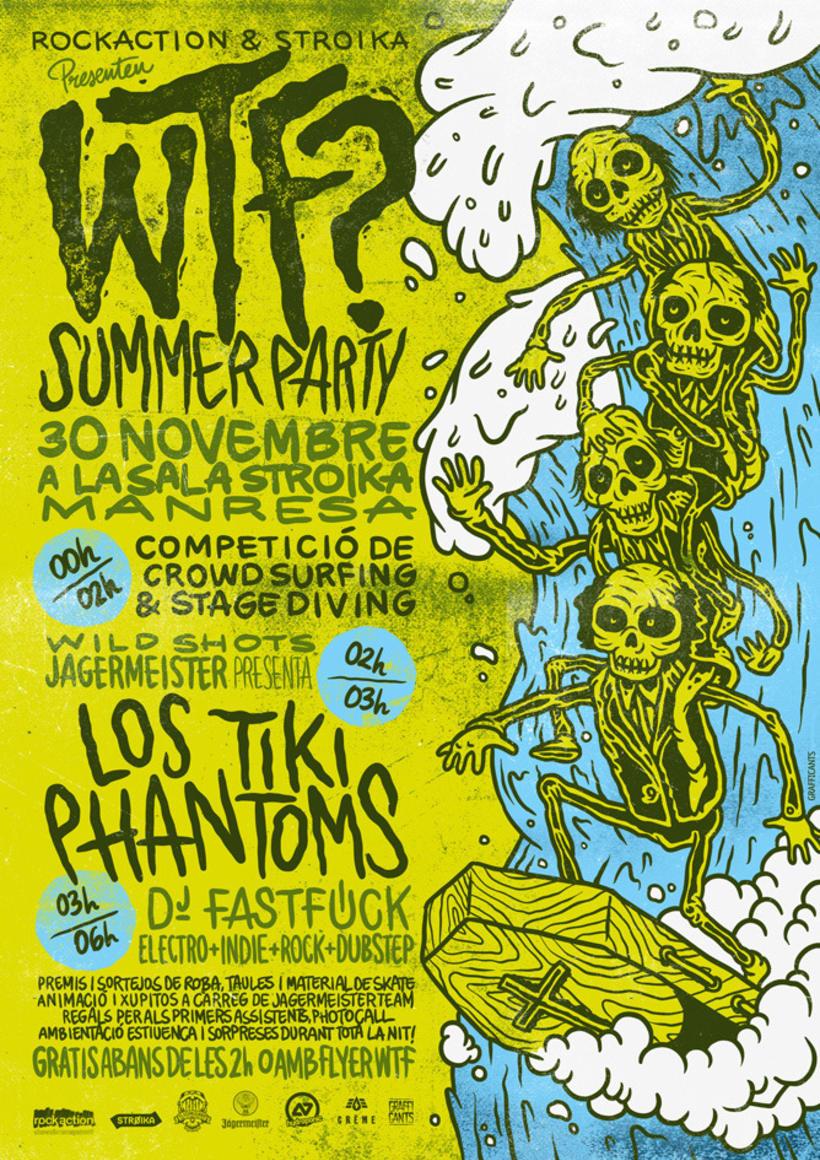 WTF? Party w/ Los Tiki Phantoms 1