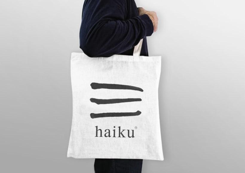 Identidad tienda de regalos Haiku 7