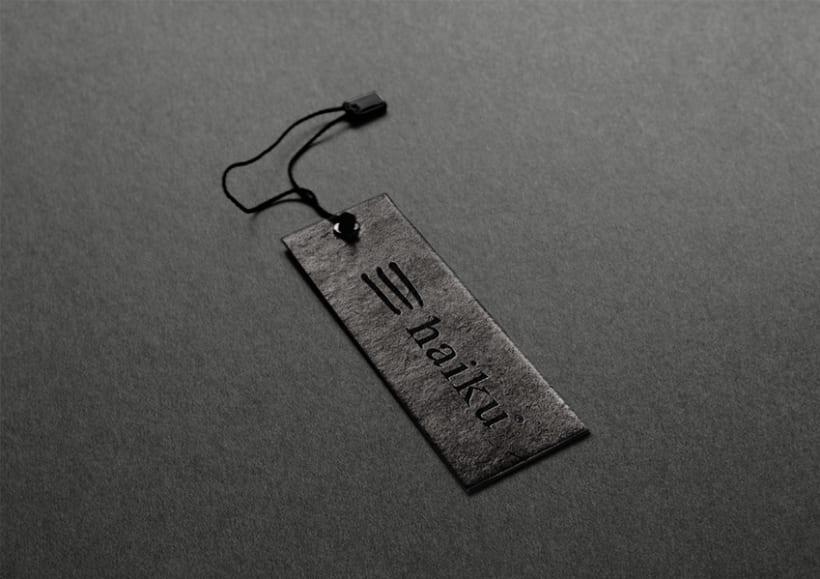Identidad tienda de regalos Haiku 6