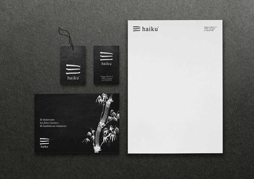 Identidad tienda de regalos Haiku 4