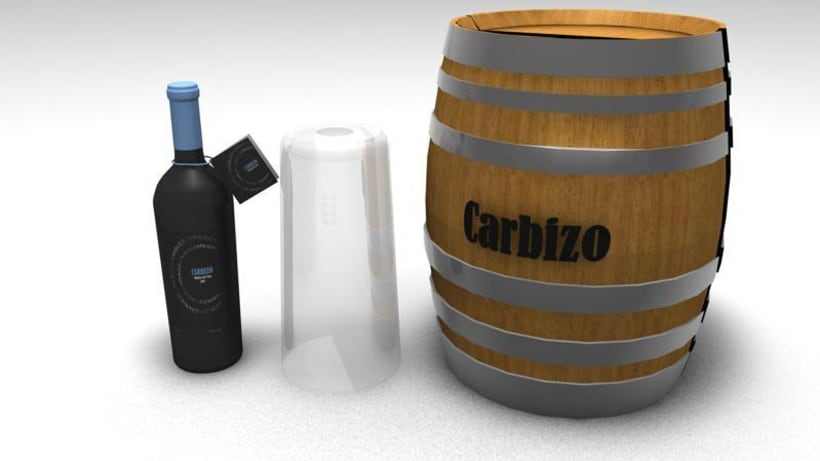"""Proyecto Carbizo"" Objetos 3d 2"