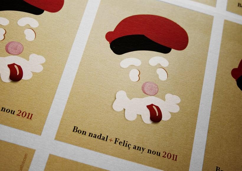 Ilustración Postal de Navidad'11 3
