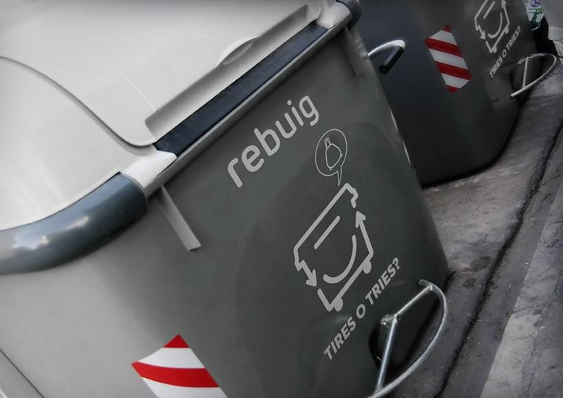Tires o Tries campaña de reciclatge 8