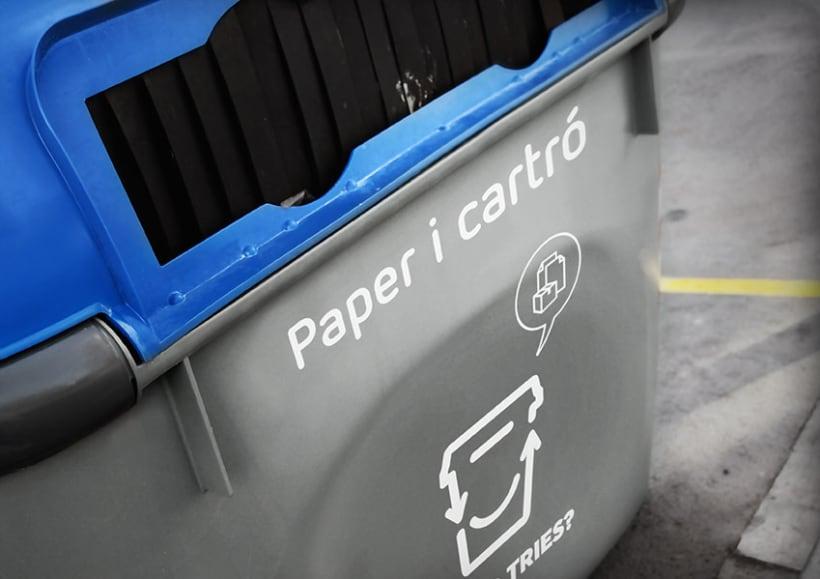 Tires o Tries campaña de reciclatge 6